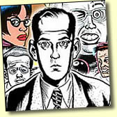 "Dan Clowes, creator of ""Ghostworld"", reviews Caricaturist Sam Klemke's underground comic book, ""Party of 1"""
